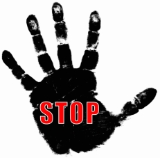 Image result for stop hand